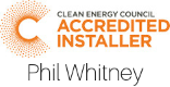 Clean energy council Accredited Installer - Solaredge Solar Panel installation- Whitney Electrical
